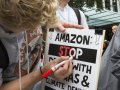 Hundreds of Amazon employees plan to risk their jobs this week by violating company policy