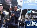 Coinbase, US's largest cryptocurrency exchange, makes Nasdaq debut